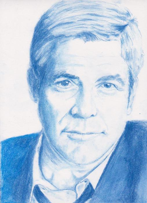 George Clooney by zalvesteso